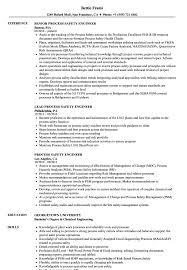 Process Safety Engineer Resume Samples Velvet Jobs