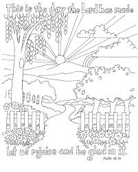 Bible Coloring Pages For Kids Psalm
