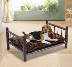 wood dog bed furniture. large wooden dog bed couch pet furniture raised cat cot indoor outdoor wcushion wood