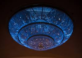glass chandelier blue lighting philadelphia weddings ritz carlton hotel c