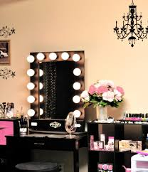 charming makeup table mirror lights. Gallery Of Awesome Vanity Mirror With Lights For Bedroom Stunning Trends Images Diy Makeup Image Charming Table R