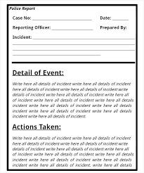 Inspirational Photos Sample Incident Report Form Templates Medical