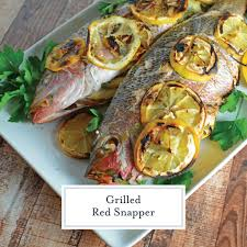 Grilled Red Snapper Recipe - How to ...