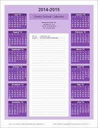 School Calendar Template 2015 2020 School Year Calendar Template New Collins High School