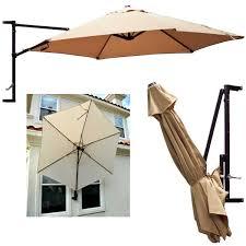 wall mount patio umbrella
