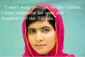 Malala Quotes Custom Malala Yousafzai A Symbol Of Hope Media Matters WFHS