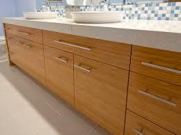 bamboo bathroom vanity. I Love How The Bamboo Finish Warms Space Of An Otherwise Stark Bathroom. Bathroom Vanity