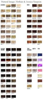 Wig Color Chart Codes Wigs And Hair Colour Charts