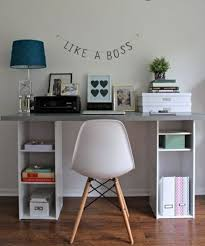diy desk cost. Office Table Itself Building Stained Wood Low-cost Urban Like A Boss Diy Desk Cost Y