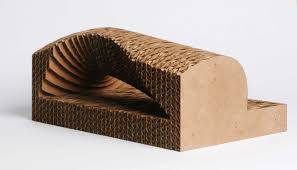 Corrugated Cardboard Furniture Serendipity Playing With Corrugated Cardboard Zwarts Jansma