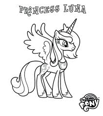my little pony friendship is magic princess luna coloring page in print pages 6 l my little pony coloring pages princess luna