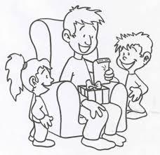 Kleurplaat Vaderdag Dibujos Para Clase Pinterest Fathers Day