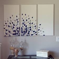 DIY wall art - neat idea, need a background color other than white, with  bright colors for peacock feather. will try this one! | Pinterest | Diy wall  art, ...