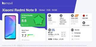 <b>Xiaomi Redmi Note</b> 9: Price, specs and best deals