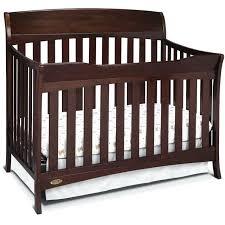 brown crib 4 in 1 convertible crib espresso brown brown minky crib per