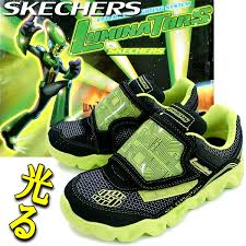 skechers shoes for boys. glow glowing skechers shape ups shoes kids sneakers vibration in ♪ [18.0 ~ 22.0 cm for boys