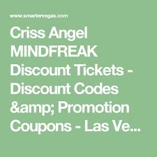 Luxor Seating Chart Mindfreak Criss Angel Mindfreak Discount Tickets Discount Codes