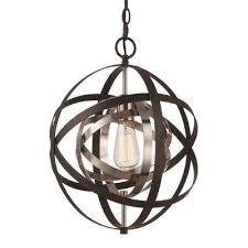 monrovia 1 light rubbed oil bronze and antique