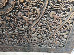 indian wooden wall art lovely wall decor carved wooden decorative wall panel new hand carved