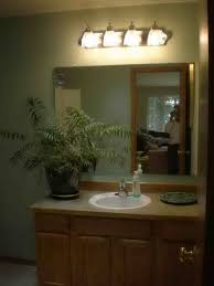 stylish bathroom lighting. Lighting Ideas, Adorable Sconces Vanity With White Shade Bathroom Designs Above Wide Rectangle Stylish