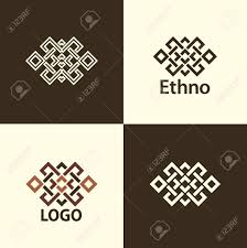 Set Collection Of The Endless Knot Or Eternal Knot Designs One Sign In Different Variations For Your Logo Tattoo Patterns Vector Illustration