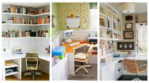 space saving office. 35 Corner Office Design And Space Saving Furniture Placement Ideas F