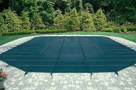 safety pool covers. Contemporary Covers Picture Of GLI SecurAPool Stock Rectangle Mesh Safety Cover To Pool Covers