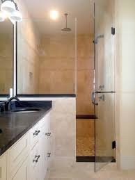 fascinating frameless inline shower enclosures wall to wall shower enclosures picture