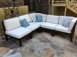 outdoor sectional from pottery barn