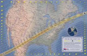 2017 Solar Eclipse Chart Countdown Begins To Great North American Eclipse The