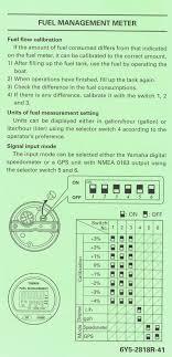 yamaha outboard fuel consumption chart new yamaha digital guage gps