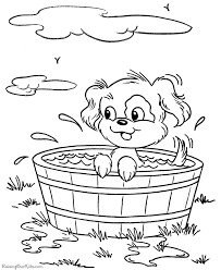 Small Picture Printable puppy coloring pictures 082