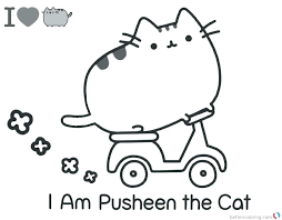 Coloring Pages Pusheen Coloring Book For Full Sizes Awesome Coloring
