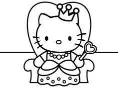 Hello kitty coloring pages are images of the fictional hero who is thought up by the japanese designer yuko shimizu. 200 Coloring Pages Hello Kitty Ideas Hello Kitty Coloring Pages Hello Kitty Coloring