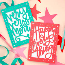 free christmas cards to make paper cut christmas card diy free svg cut files persia lou