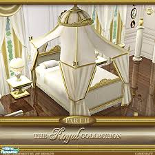 sims 3 cc furniture. Lovely Sims 3 Furniture Cc #1 - Cashcrafts Royal Collection Canopy Cream Recol
