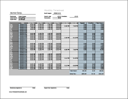 Overtime Calculation In Excel Format Timesheet Format Xls Sample Customer Service Resume