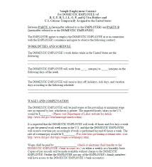 Work Contract Templates Awesome Great Contract Templates Employment Construction Photography Etc