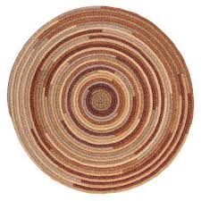 riley rustic blend 10 ft x 10 ft braided round area rug