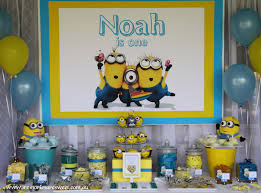 Minion Party Minion Party Dessert Table Lolly Buffet Printables Paperie