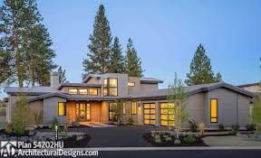Modern Ranch Homes National Plan Service 1956 2587791627 178dbe1 Contemporary Ranch Floor Plans