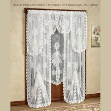 French Lace Curtains Rod Pocket Curtains Drapes Tree Of Life Lace Lace Window Blinds