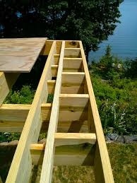 this is clic picture frame blocking for a deck that has the decking going two