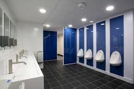 school bathroom. School Toilet Refurbishment Ernest Bevin Bathroom