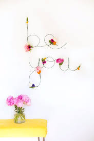 diy teen room decor ideas for girls diy fl and wire words cool bedroom