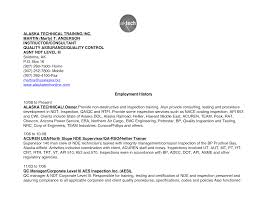 Best Solutions Of Ndt Technician Resume Sample For Your Sample