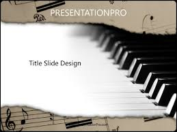 Music Powerpoint Template Music Powerpoint Template Background In Art Entertainment