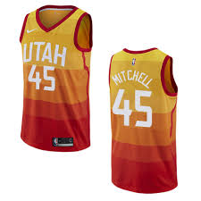 Edition Donovan Mitchell Jersey City
