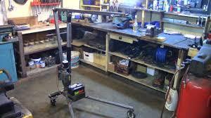 hoist crane building. part 3: electric utility hoist/engine hoist (building the frame) - youtube crane building a