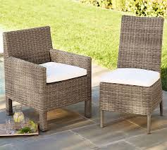 Torrey All Weather Wicker Dining Side Chair Natural